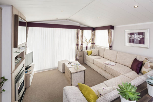 Caravan holiday homes @ Cenarth Falls Holiday Park.